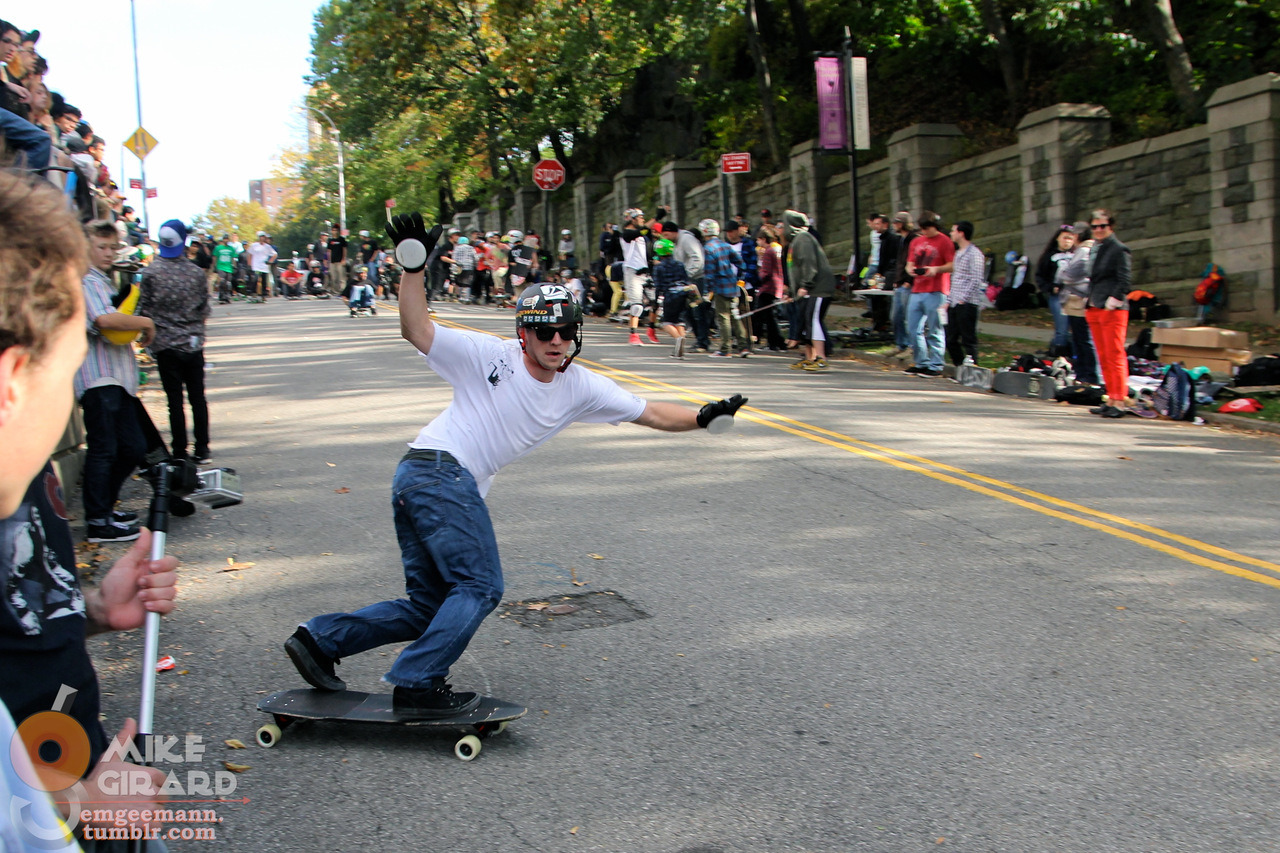 Toeside Check. Skate for Life Slide Jam - Broadway Bomb weekend. Rider: Josh Wright. Photo: Mike Girard. -MG