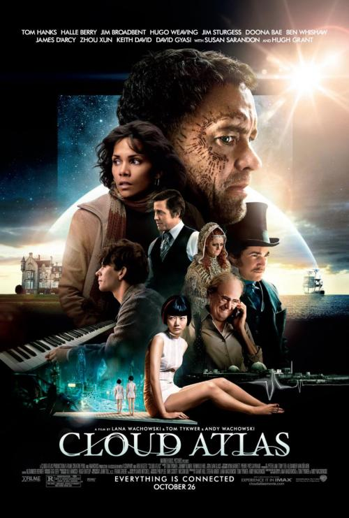 Go see Cloud Atlas. It's quite spectacular and beautiful and the score is fantastic and it's all very very good.