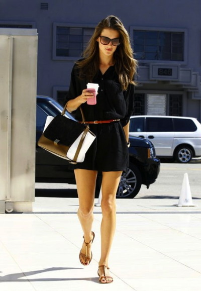 Alessandra Ambrosio in Los Angeles, California recently…