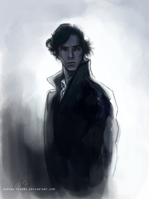 Feels like a Sherlock day. Did this one a while back… felt like posting it.