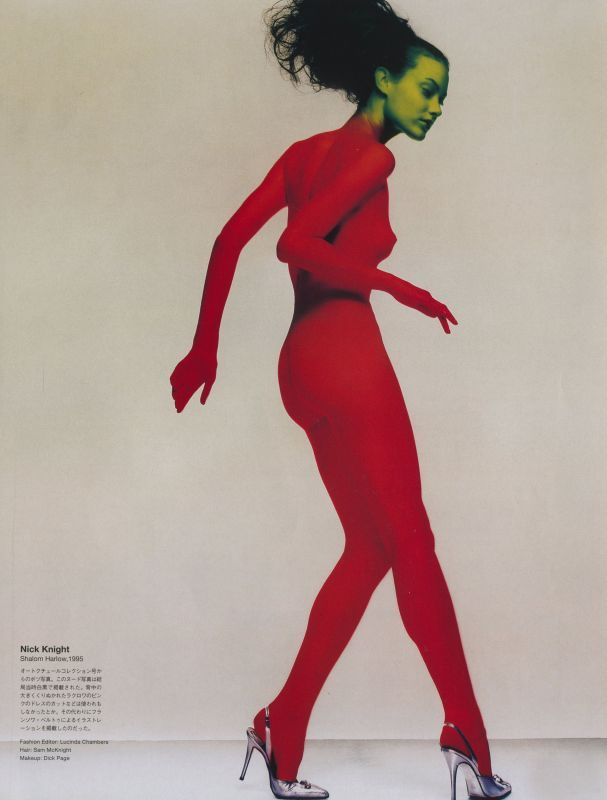 pussylequeer:  Shalom Harlow by Nick Knight, 1995