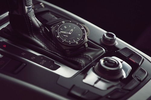 johnny-escobar:  Panerai Luminor x Audi A5