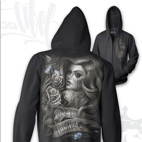 Our #diamonds hoodie is now available and ready to ship. #ogabel #shopogabel