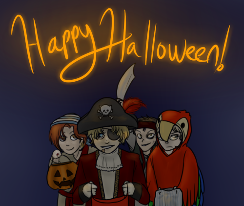 Happy Halloween, from The Them! Question answering will resume shortly, thanks for your patience!