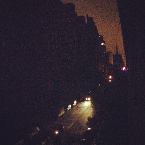 Blackout Chelsea. Out my window
