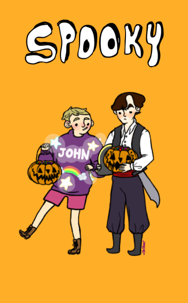 invisiblesarcasm:  I just wanted to use the Halloween stuff on picmonkey tbh. I know I still have an hour before it turns Halloween for me, but I'd like to say it early to you lot! MERRY HALLOWEEN!! Be safe when you go out and explore for treasure.