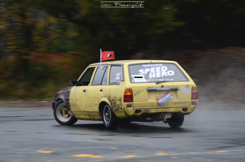 Quinn was wagon reppin' as well. 12a powered Corolla wagon and linking the track cleaner than all the s13's. Check out his website! speedhero.wordpress.com