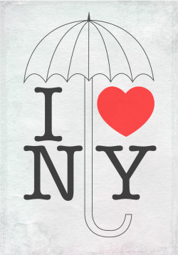 girlwithredhat:  I decided to make this poster to show my support for New York. I send them my best wishes through this difficult time. Stay strong NY! <3