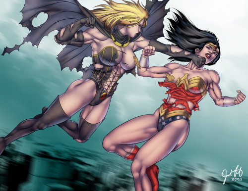 Power Woman versus Wonder Woman