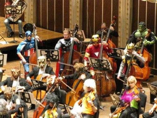 freeonlinemag:  The Avengers Orchestra …  The Cleveland Orchestra at Severance Hall