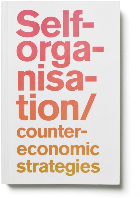 Self-organisation/Counter-economic Strategies  The book is a collection of essays and different practical examples on the subject of Self-organisation and counter-economic strategies. The essays cover a wide cross-section of activity, from new approaches to intellectual property and the implications of the free/open source software movement, to political activism and the de facto self-organisation embodied in informal architecture and the so-called black economy […]  There's a highly compelling essay in here arguing the importance of the 'free' in creativity and in the production of culture (The Architecture of Innovation by Lawrence Lessig, pp. 105 - 144).  Of course the book can be downloaded for free — the PDF link is on the webpage.