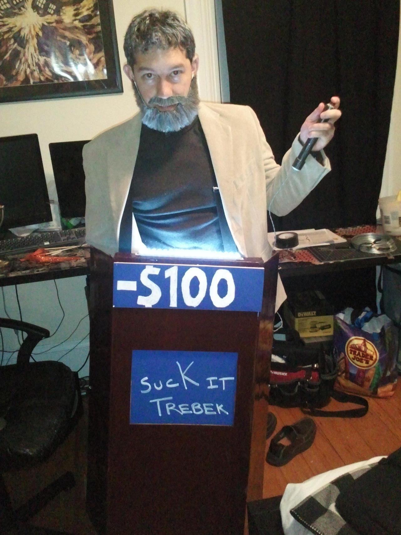 "theclearlydope:  Alex Trebek: Mr. Connery, go ahead. Sean Connery: The day is mine! I'll take Famous Titties for 400. Alex Trebek: Titles, Famous Titles. Sean Connery: Damn! Alex Trebek: And the answer is: This movie title is taken from the name of the book ""Gone With The Wind."" Mr. Sean Connery.  Sean Connery: Dolly Parton! Alex Trebek: Titles, Mr. Connery. Not titties.  Sean Connery: Not a fan of the ladies, are you Trebek?"