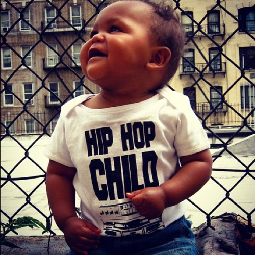 veryveryverymuch:  Hip Hop Child Shirt for Babies and Toddlers coming soon! Www.shortyfresh.com *