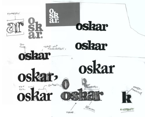 weareoskar:  DRAFT OF OUR FUTURE GRAPHIC ID MADE BY OUR FRIENDS AT RICE-CREATIVE (VIETNAM)  rice-creative:  What is Oskar?