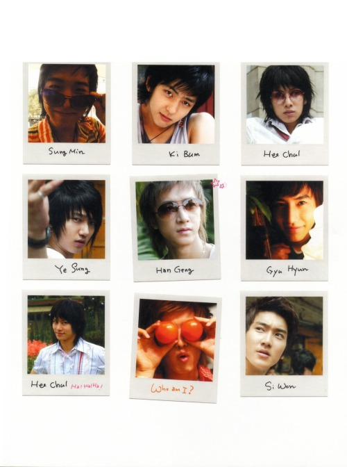 hqsuperjuniorscans:        Boys in City 1 Photobook all scans here/download scans here credits; mei_yee_chan