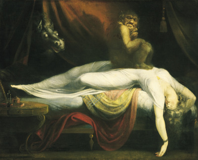 Happy Halloween! Henry Fuseli 'The Nightmare' 1781