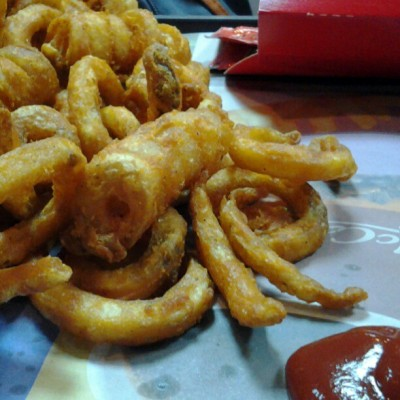 Evil stuff! Mcdonald's twister fries #twisterfries #mcdonalds #fastfood #fries #twister #damnevil #food #foodporn #igers #igersmanila  (at McDonald's San Pedro)