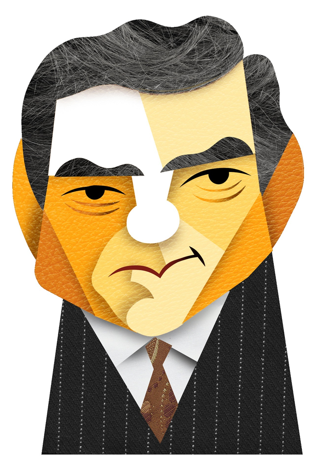 davidcowlesillustrations:  Happy Birthday, Dan Rather