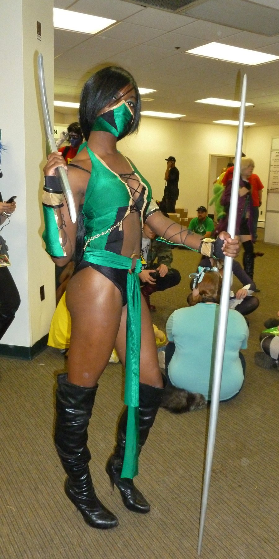 Jade by ~eframTrabbit Series: Mortal Kombat