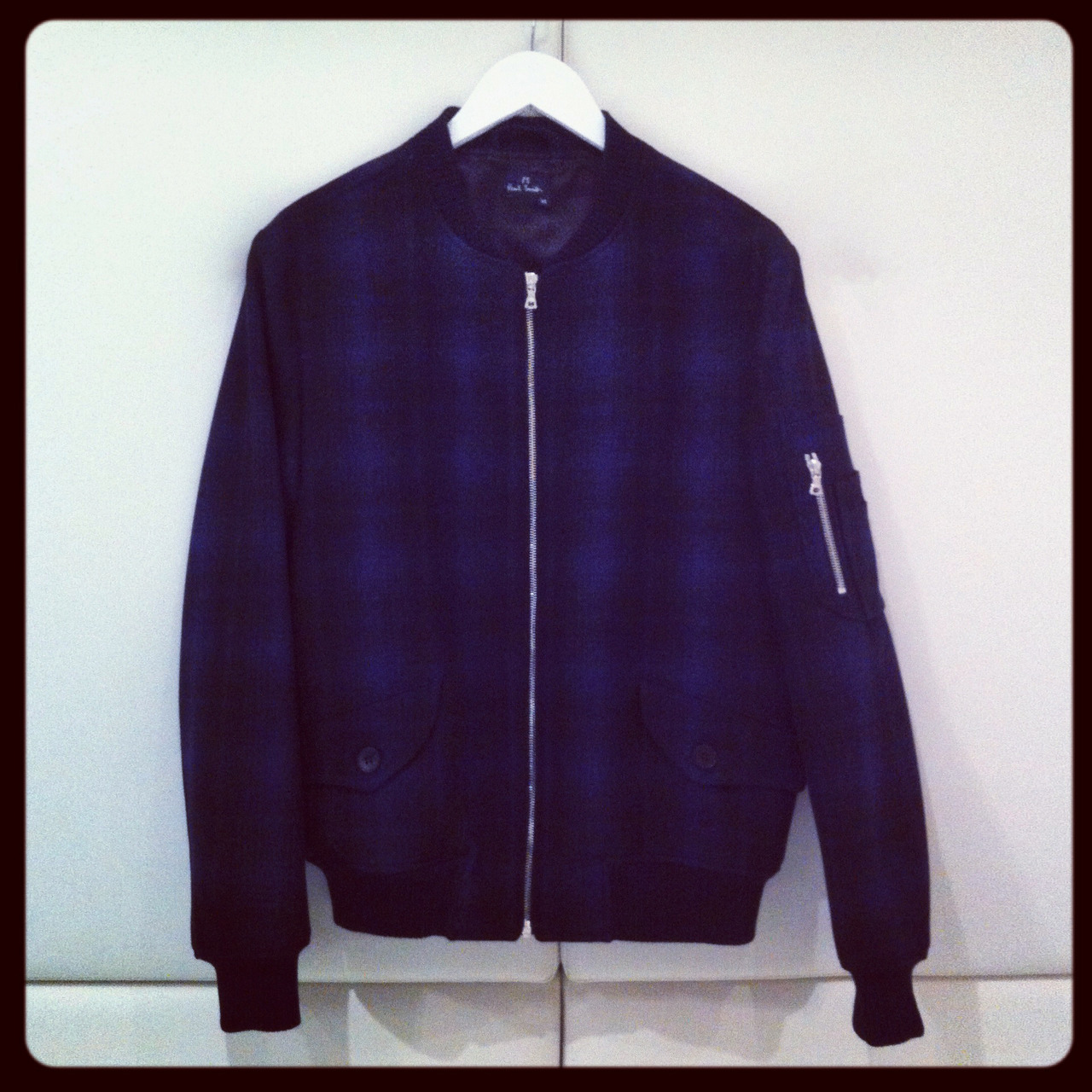 Today we're coveting this plaid bomber jacket from PS by Paul Smith. BUY at: http://bit.ly/Scp68T or SHOP all bomber jackets at: http://bit.ly/W6dcnZ