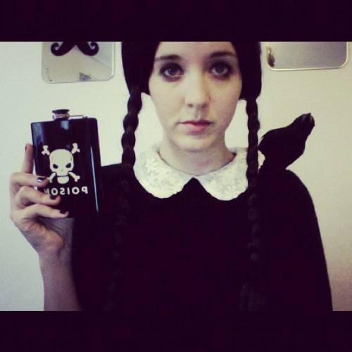 Happy Halloween! Love, Wednesday Addams