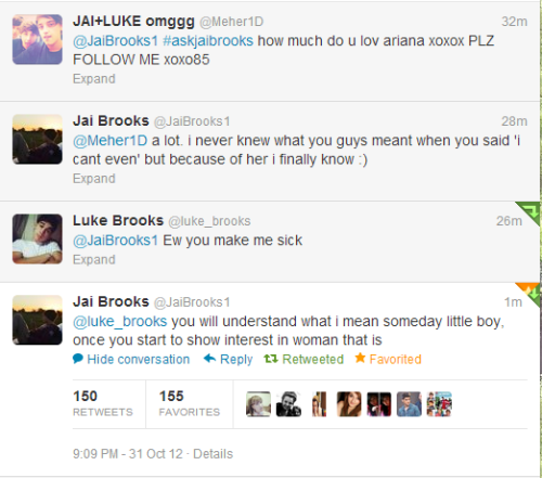 crazyspeck:  Jai acting like he's the older twin.
