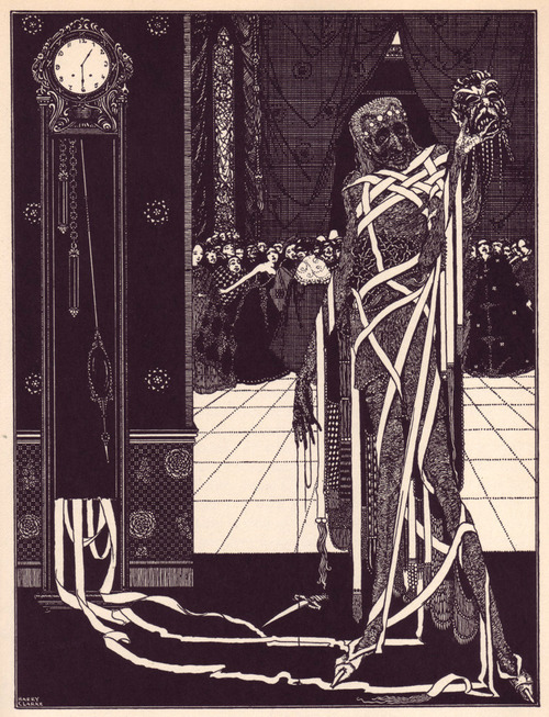 supersonicelectronic:   Harry Clarke. Harry Clarke (1889 - 1931) was an Irish Illustrator whose detailed, art noveau-esque pieces resonate strongly today as influences for countless artists and admirers.  Here I've chosen some of my favorite pieces from his illustrations of Edgar Allan Poe's Tales of Mystery and Imagination in celebration of Halloween.  Enjoy. Read More