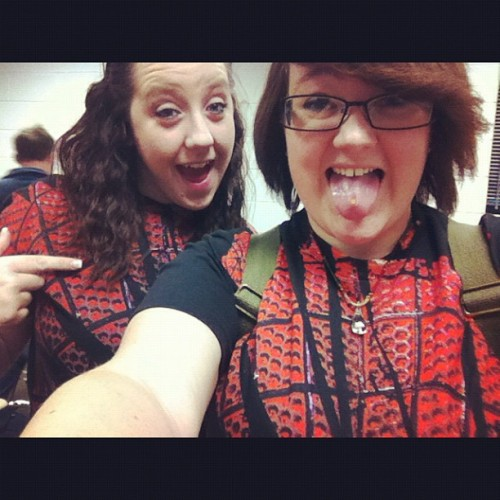 We #match! How cool are we? @xrainnndropx #me #spiderman