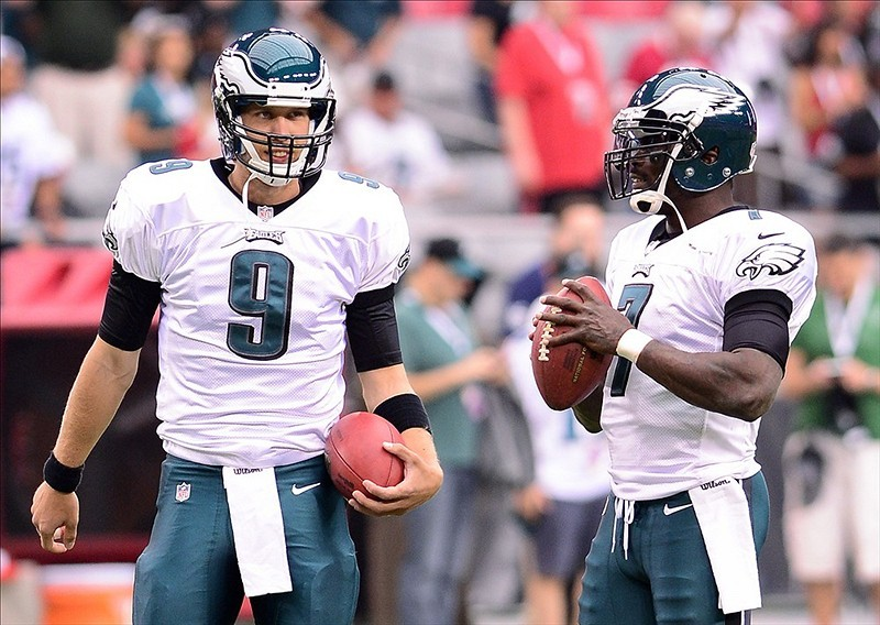 It's official: the Philadelphia Eagles' starting QB Monday night in New Orleans will be…