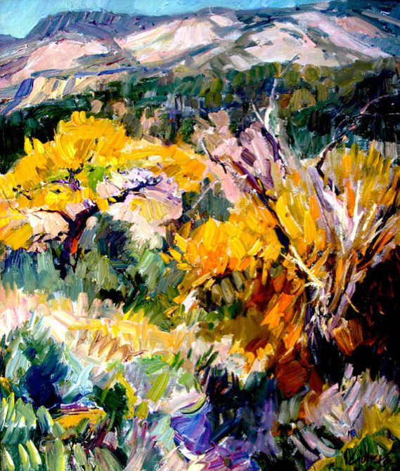 Walt Gonske - October Cottonwoods