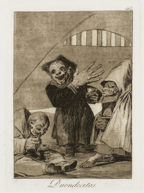 park west gallery, francisco goya, halloween