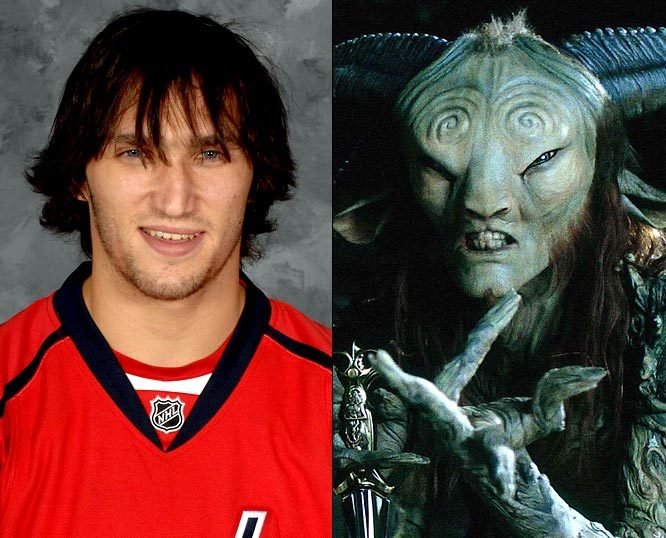 It's Halloween, and with no NHL season in sight, Alexander Ovechkin will easily be able to slip into his alter-ego, The Faun from Pam's Labyrinth. (Getty Images) GALLERY: Hockey Fright Night