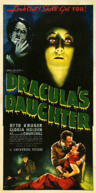Dracula's Daughter (1936) via: paul.malon