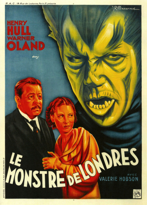 Werewolf of London (French, 1935) via: paul.malon