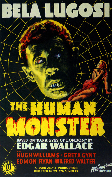 The Human Monster (1939) via: paul.malon