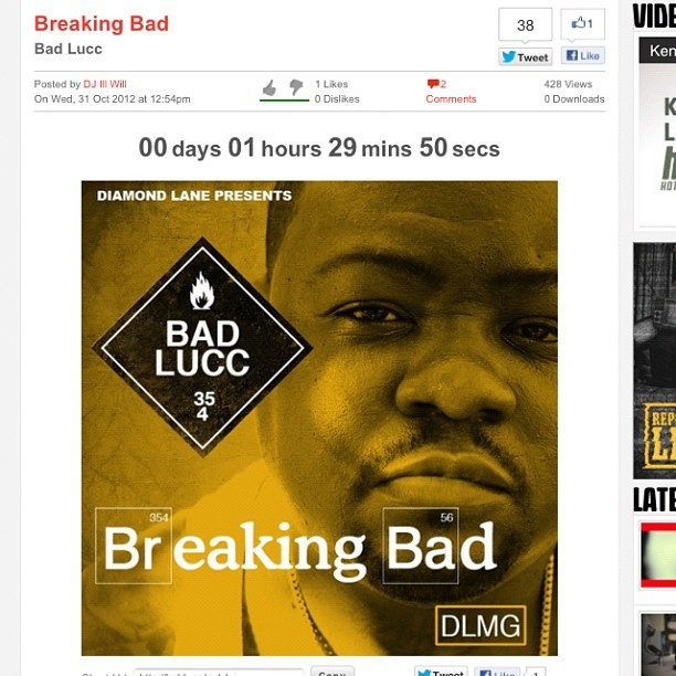 myambitionzasablogger:  It's Almost Time ! || HotNewHipHop.com || #BreakingBad for FREE DL