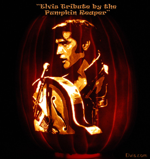 Congratulations to the Pumpkin Reaper for winning The Elvis Pumpkin Carving Contest on Facebook!