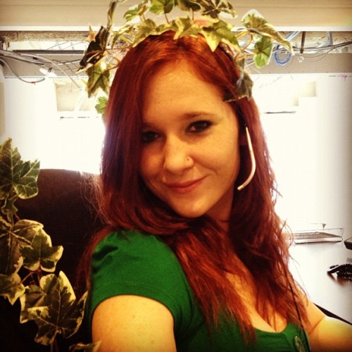 #poison #ivy #work #halloween #batman