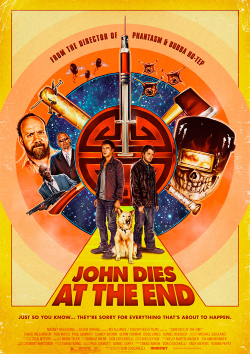 Don Coscarelli's JOHN DIES AT THE END, shown at KHFF 2012  JDATE will be available on VOD on December 28, then hits theaters in limited release on January 25