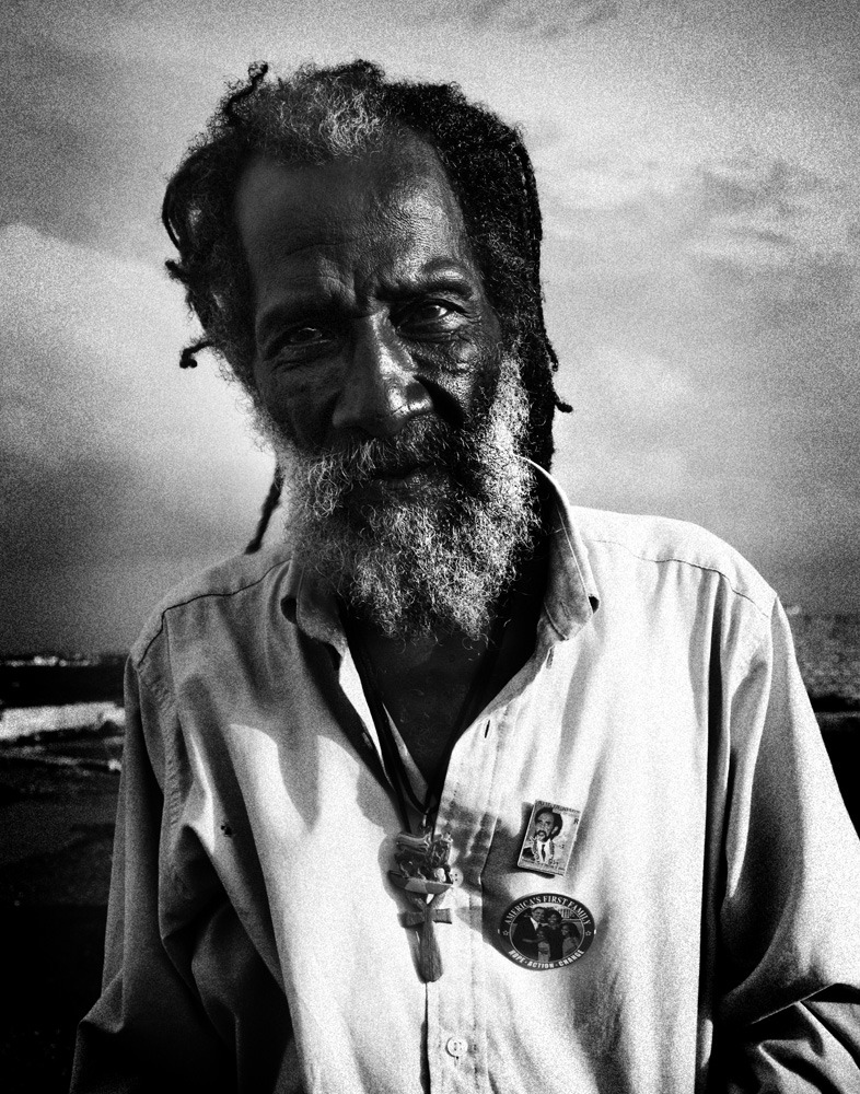 Rasta. Kingston Jamaica 2009.