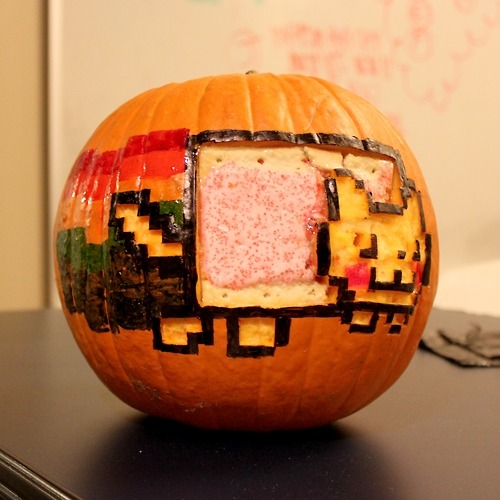 nyan cat pumpkin