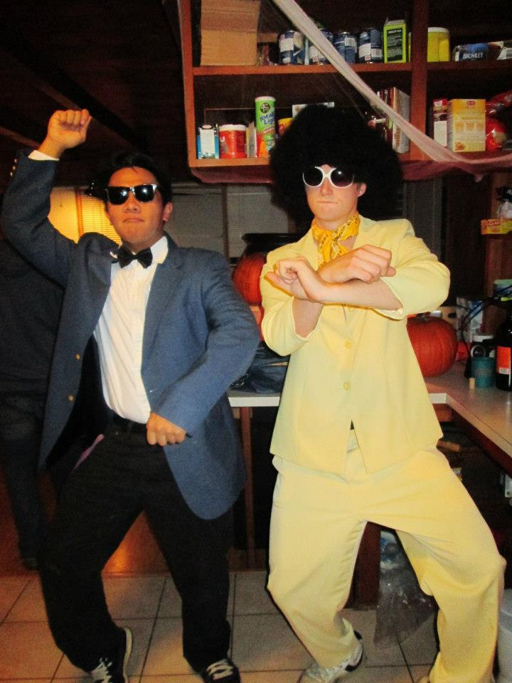 HAPPY HALLOWEEN! From Marcus Cardona (@marcuscardona) and Nate Lawson (@noslaw4u) from Pinetree Comedy! Halloween video dropping soon! #GangnamStyle