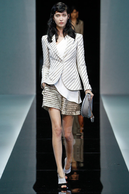 Emporio Armani Spring 2013 Ready to Wear FIG Fave #1