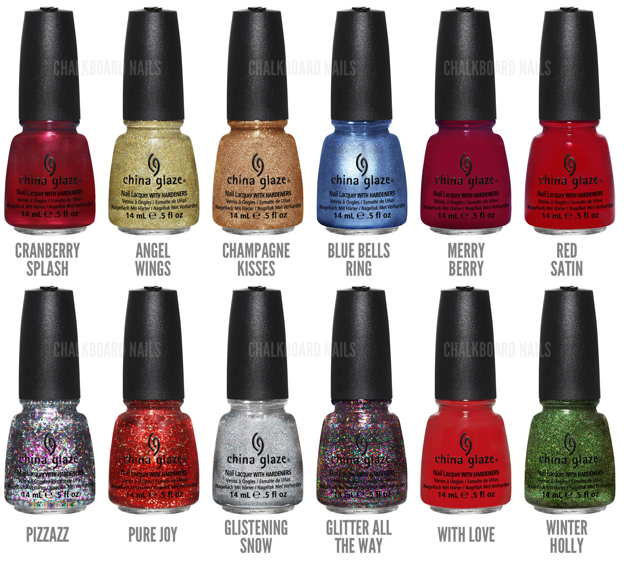 China Glaze Holiday Collection 2012