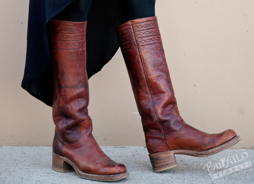 The ultimate vintage boot, Frye Campus Talls.