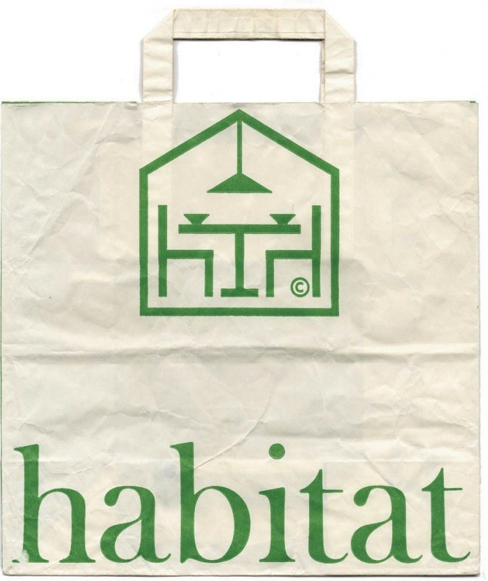 Habitat white bag at to have and to hold