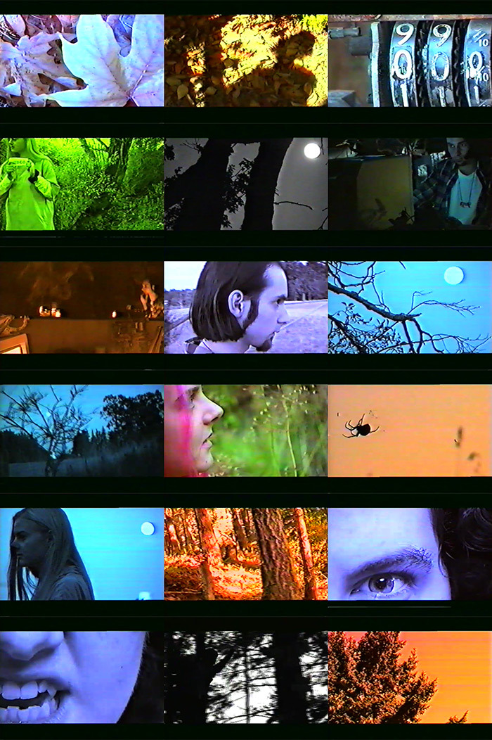 frames from a video made in art school, Halloween 1993 (thanks Sandee Moore & Lisa Johanson)