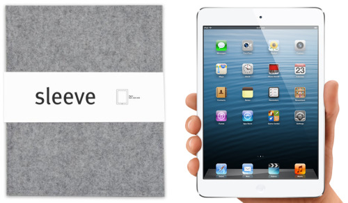 I'm now taking orders for the Sleeve for iPad mini … on sale starting at $19.