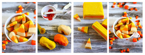 Halloween Candy Corn Cookies | Fresh Tastes Blog | PBS Food  super cute! can someone make these for me though, because that is way too many steps for cookies.
