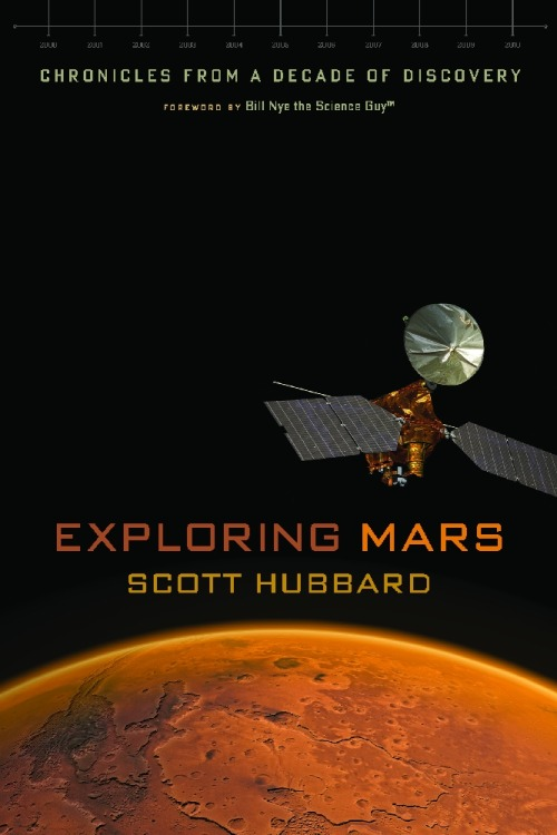 "(via BiblioVault - Exploring Mars: Chronicles from a Decade of Discovery: Scott Hubbard and Bill Nye) Gah! Curse the fact that my Christmas bonus only works for U of C Press books! ABOUT THIS BOOK  The Red Planet has been a subject of fascination for humanity for thousands of years, becoming part of our folklore and popular culture. The most Earthlike of the planets in our solar system, Mars may have harbored some form of life in the past and may still possess an ecosystem in some underground refuge. The mysteries of this fourth planet from our Sun make it of central importance to NASA and its science goals for the twenty-first century.   In the wake of the very public failures of the Mars Polar Lander and the Mars Climate Orbiter in 1999, NASA embarked on a complete reassessment of the Mars Program. Scott Hubbard was asked to lead this restructuring in 2000, becoming known as the ""Mars Czar."" His team's efforts resulted in a very successful decade-long series of missions—each building on the accomplishments of those before it—that adhered to the science adage ""follow the water"" when debating how to proceed. Hubbard's work created the Mars Odyssey mission, the twin rovers Spirit and Opportunity, the Mars Reconnaissance Orbiter, the Phoenix mission, and most recently the planned launch of the Mars Science Laboratory.  Now for the first time Scott Hubbard tells the complete story of how he fashioned this program, describing both the technical and political forces involved and bringing to life the national and international cast of characters engaged in this monumental endeavor.  Blending the exciting stories of the missions with the thrills of scientific discovery, Exploring Mars will intrigue anyone interested in the science, the engineering, or the policy of investigating other worlds."